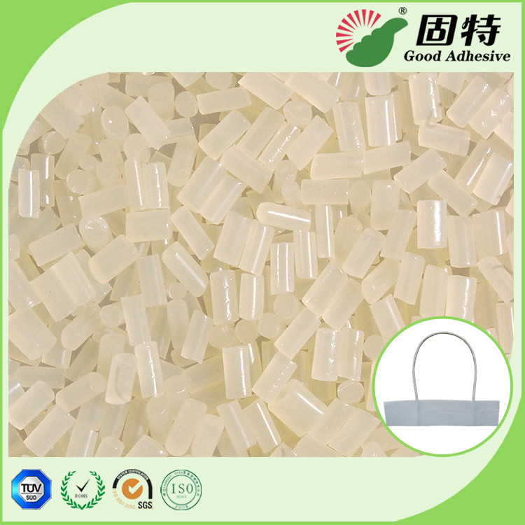 Viscosity Resin Yellowish Hot Melt Adhesive Pellets For Paper Handle Attachment