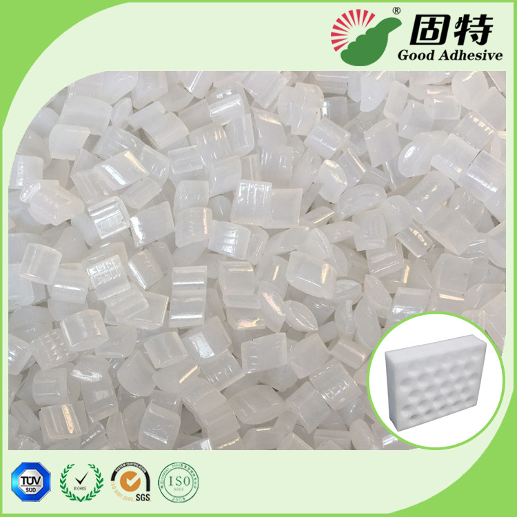 EPE Positioning Glue Yellowish Hot Melt Adhesive Pellets For Box Sealing