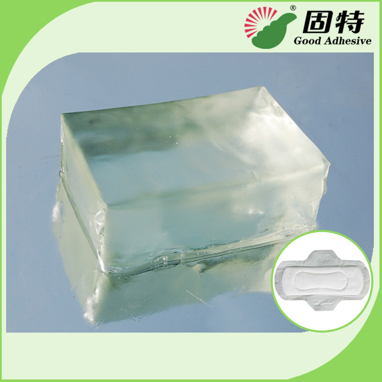 Environment Light And Transparent Block Hot Melt Glue For Adult & Baby Diaper Construction