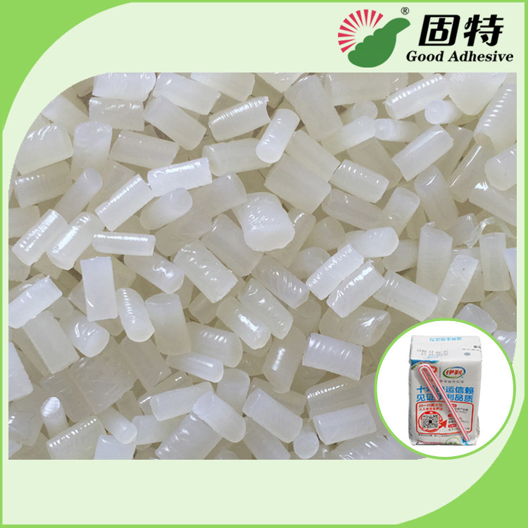 EVA Hot Melt Adhesive Pellets For Straw Attachment For Milk Box Or Juice Box