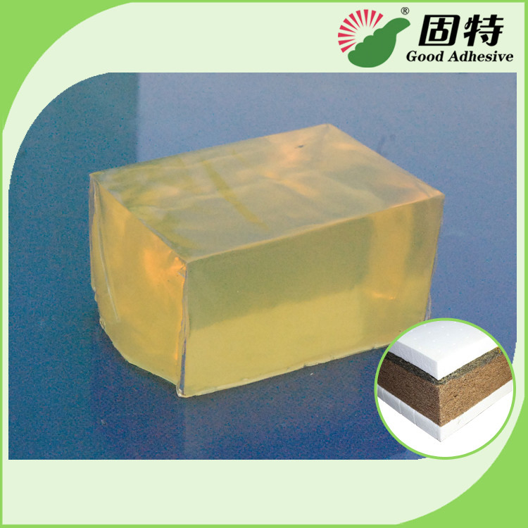 Yellow Hot Melt Adhesive Pellets For Sticking Nylon Wire With Wood Veneer In Timber Splicing